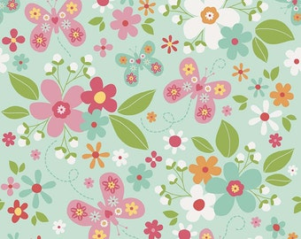 Girl Fabric by Zoe Pearn for  Riley Blake Designs