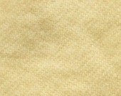 """Fat Eighth - Wool Fabric - Hand Dyed - Ivory - 100% Wool - 16"""" x 12"""""""