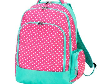 Backpack, Monogrammed backpack,Dottie Collection, Lunch box TOP SELLER