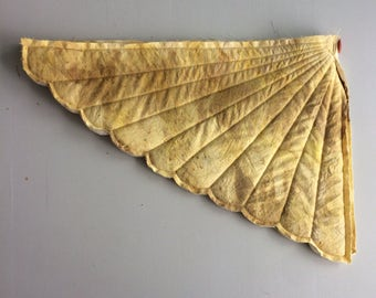 Eucalyptus and eco print wings