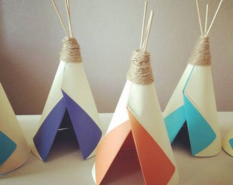 Teepee Centerpieces / Party Favors / Party Decorations