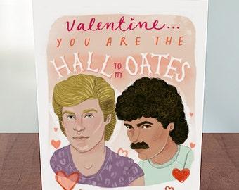 Hall & Oates Valentine's Card