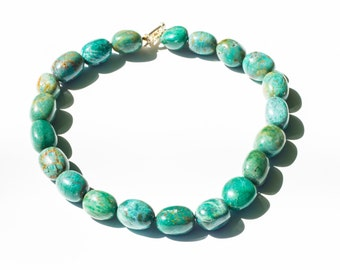 Green Beaded Necklace