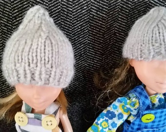 Knit Pointed Hats for 9 inch Doll