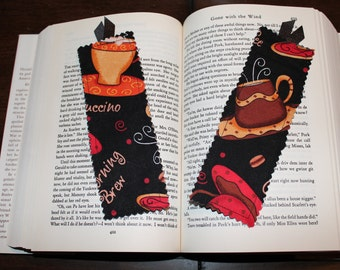 Coffee Bookmark - Music Bookmark - Rose Bookmark - Butterfly Bookmark - Lighthouse Bookmark