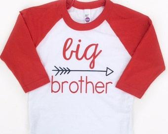Big Brother Shirt, Sibling Shirts, Family Photo shoot, Pregnancy Announcement, Sibling Photo shoot, Big Brother Little Brother Shirt