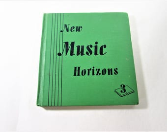 New Music Horizons Vintage Hardcover Song Book