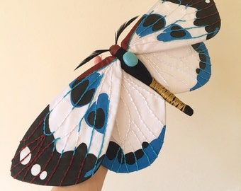 Chalcosia thaivana Moth Soft Sculpture
