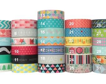 Washi Tape Adhesive Sticky Paper Masking Decoration - 10 Meter Long