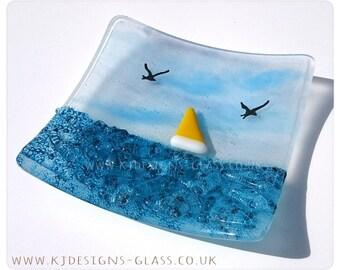 Sea Glass Dish