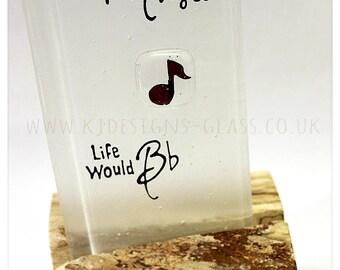 Music Quaver Bead