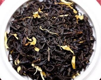 Organic Black Tea: Mango Black Tea Blend Loose Tea Blend