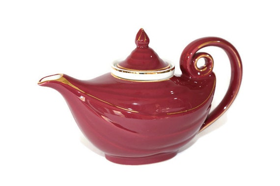 Hall aladdin teapot maroon hall aladdin teapot maroon hall - Aladdin teapot ...