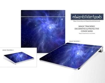Magic Trackpad Blue Nebula Pattern Decorative Cover Skin