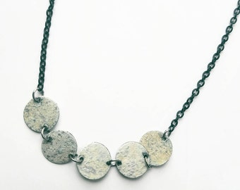 80's upcycled necklace