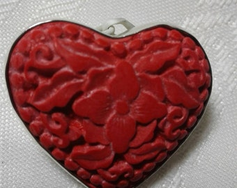 Red Heart pendant,