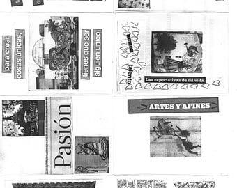 Fanzine collage