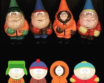 S. Park 4in mini gnome set