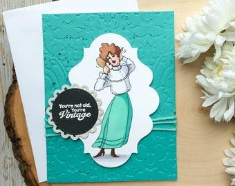 Funny Birthday Card, Handmade Card, Humorous Birthday Card, Handmade Birthday Card, Funny Card, Happy Birthday Card, Birthday Cards, Humor