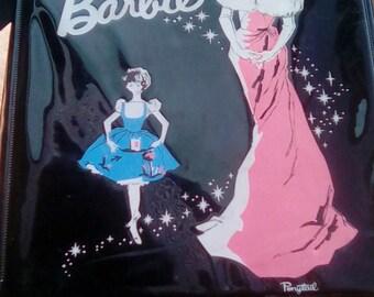 1962 PONYTAIL BLACK BARBIE Doll Case,Doll clothing case,Barbie Collectors,Vintage Toys
