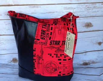Star Trek Purse - Swoon Bonnie pattern - Ready to Ship