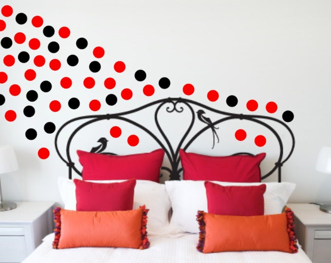Polka Dot Wall Decals, Children's room Wall Decals, Polka Dots, Circle Wall Decals