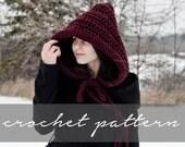 PATTERN: Knitbrooks Hood Hat Instant Download