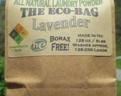Eco-Bag Jumbo - All Natural Laundry Powder-Lavender (128-256 loads)