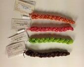 Silken Chenille Thread, Silken Chenille Thread by The Thread Gatherer, Chenille Embroidery Thread, Hand Dyed Silk Thread, Dimensional Thread