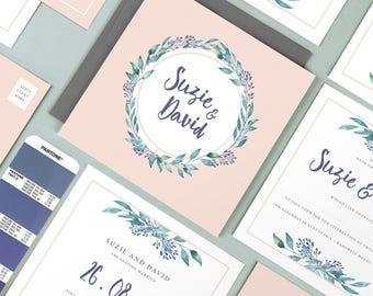 Suzie wedding invitation collection
