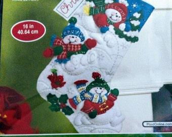 Felt Stocking Kit by Bucilla