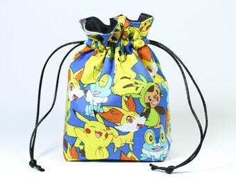 Pokemon Drawstring Bag, Dice Bag