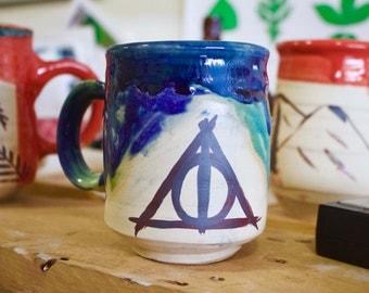 Deathly hallows mug Harry Potter