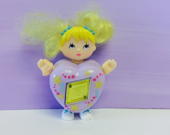 Sweet Secrets Toy, Twinkle Doll, Heart Shaped Doll, Transforming Jewelry, Galoob Toys, Transforming Toy,Vintage 1980s Girl Toys, Diamond Gem