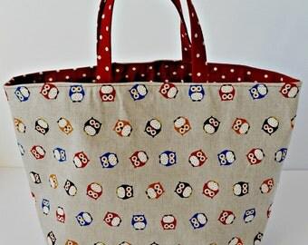 Mini Owls Bucket Bag