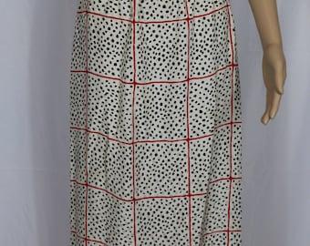 Maggy London silk skirt