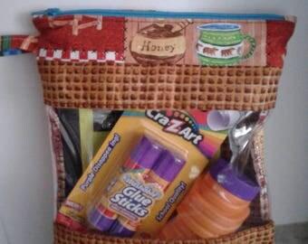 Organizing Peekaboo Bag