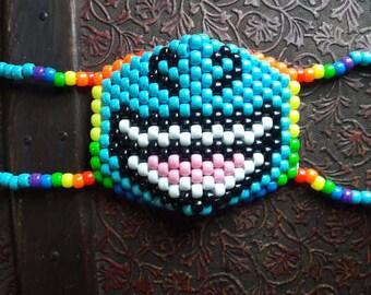 Rainbow Dash Kandi Mask