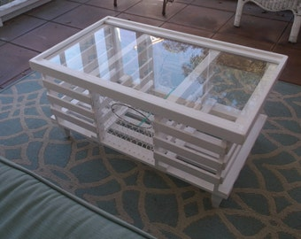 """The """"White Star"""", Lobster Trap Coffee Table!"""