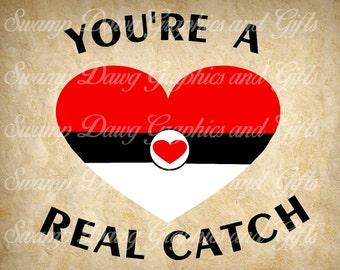 Valentines svg, pokemon svg, pokemon cut file, silhouette, cricut, cut file, digital file, valentines cut file, boy valentine svg, svg