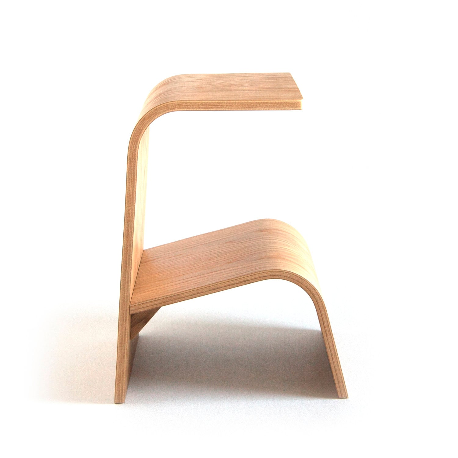 End Table Bent Plywood | Side Table | Wood End Table | Bedside Table | Coffee  sc 1 st  Etsy & Stool Bent Plywood Wood Stool Wooden Stool Small Stool islam-shia.org