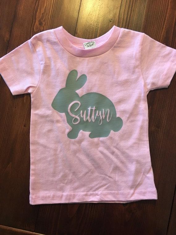 Bunny Name Shirt