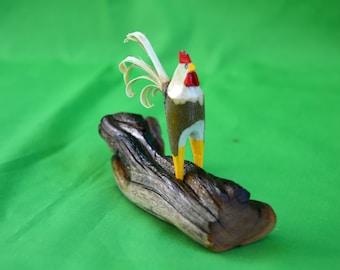 Rooster, Chicken, Wood Chicken, Collectible Rooster, Collectible Chicken, Kitchen Decor, Chicken Art, Folk Art Chicken, Rustic Hen