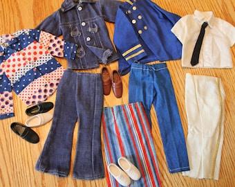 Vintage Ken doll clothes lot