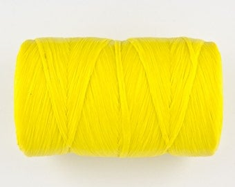 ARTIFICIAL SINEW, YELLOW- 70 lb test. 1/2 lb. spool - 300 yards, in original package