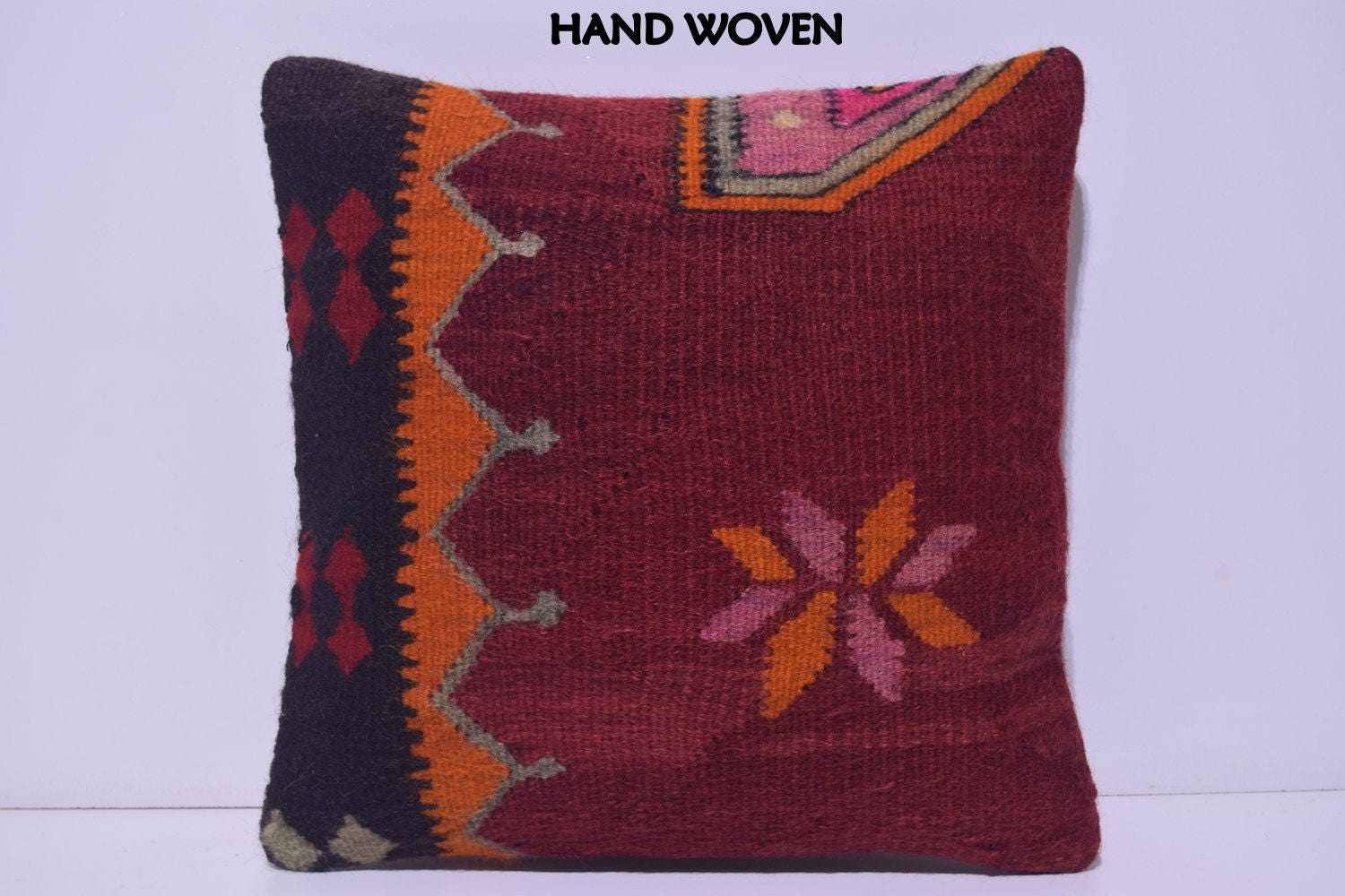 Modern Kilim Pillows : kilim pillow 18x18 modern throw pillow bedroom designs unique