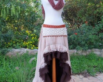 Long Tail Gypsy Skirt