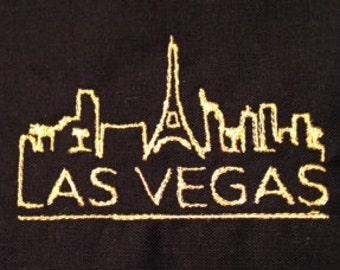 Las Vegas Skyline Machine Embroidery Design