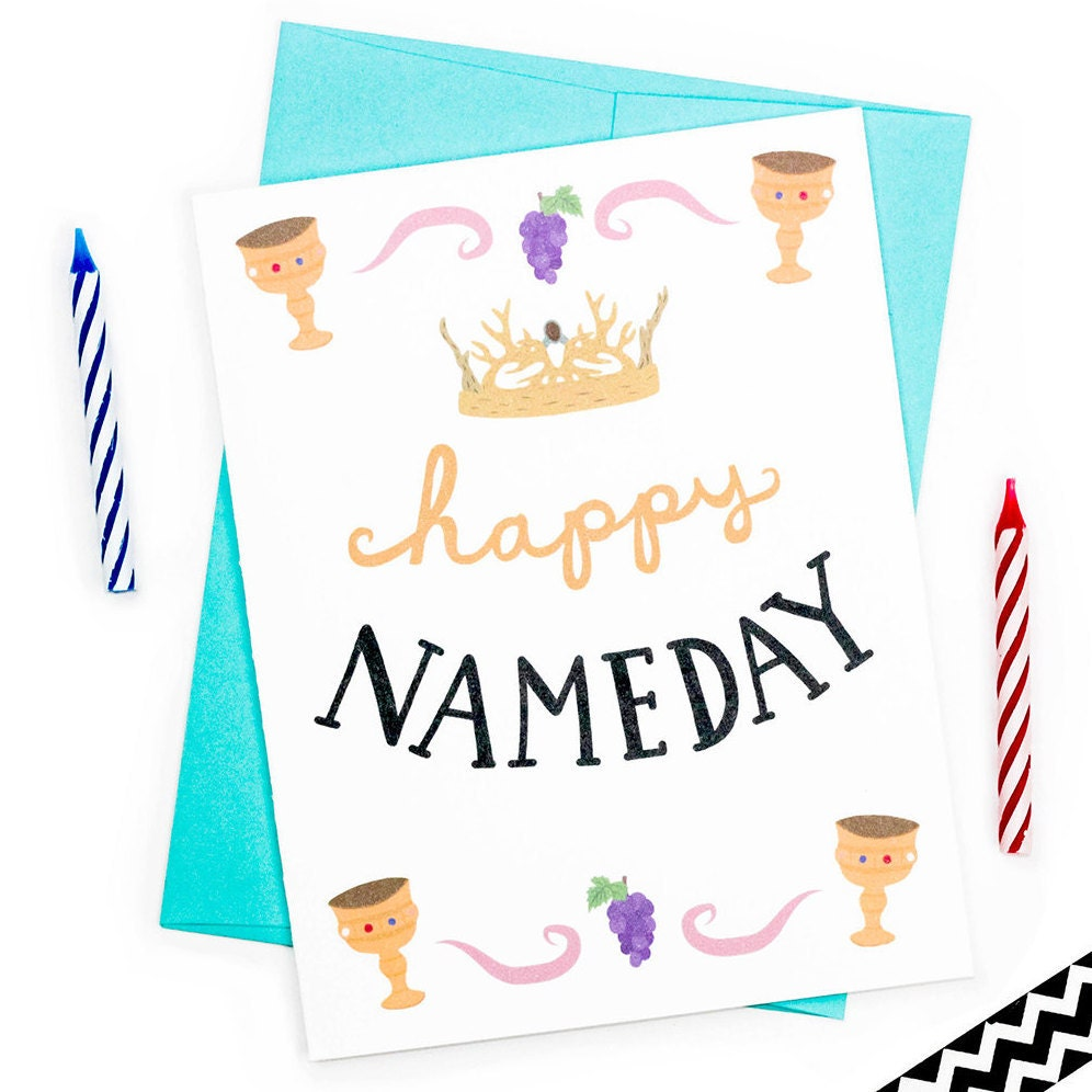 Happy name day card imgkid the image kid has it