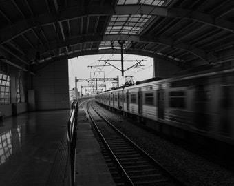 Travel by Train Photography